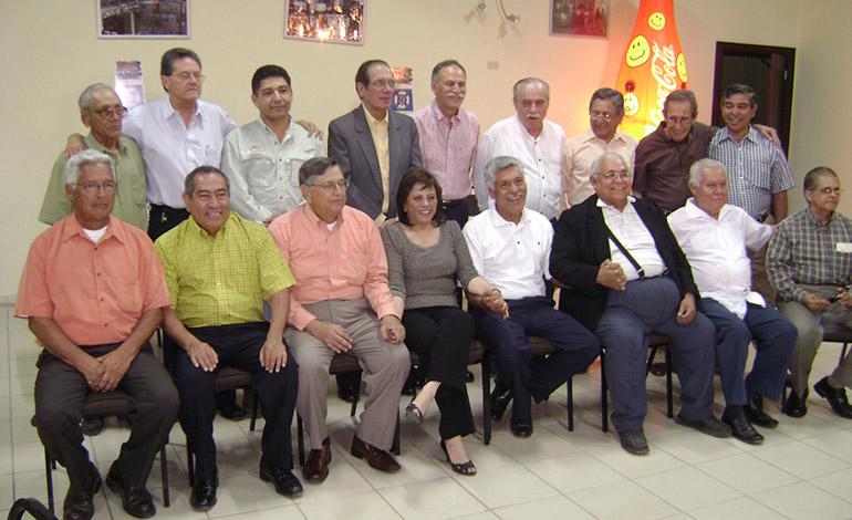 Los 50 años del Medias Verdes fue celebrada por leyendas vivientes de la Organización.