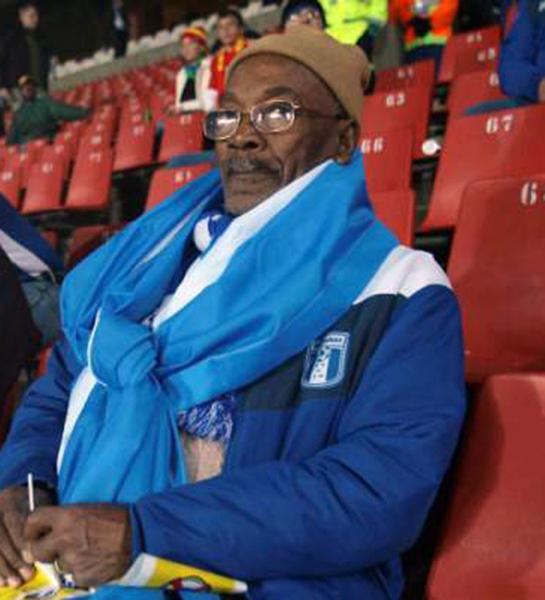 Nicolás Suazo padre, no se perdía partido de la selección.
